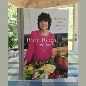 Signed Hardcover Book Cookbook by Ruth Reichl